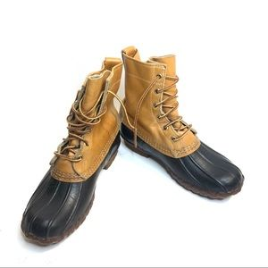 L.L. Bean Duck Boots Thinsulate Size 5